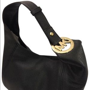 NWT Michael Kors Fulton Large Leather Hobo